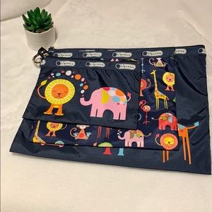 Lesportsac Zoo Collection Zipperd Bags